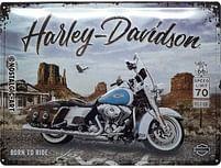 Aanbiedingen Harley Davidson Route 66 Road King Classic - Metalen Wandplaat - Baby Art - Geldig van 15/08/2021 tot 23/10/2021 bij Expo XL