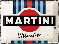 Aanbiedingen Martini - Metalen Wandplaat - Baby Art - Geldig van 15/08/2021 tot 23/10/2021 bij Expo XL