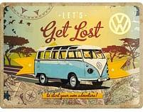 Aanbiedingen Volkswagen Let's Get Lost - Metalen Wandplaat - Baby Art - Geldig van 15/08/2021 tot 23/10/2021 bij Expo XL