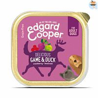 Aanbiedingen 11x Edgard&Cooper Kuipje Vers Vlees Wild - Eend 150 gr - Lee Cooper - Geldig van 17/09/2021 tot 03/11/2021 bij Plein
