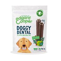 Aanbiedingen 8x Edgard&Cooper Doggy Dental Sticks Appel - Eucalyptusolie Large - Lee Cooper - Geldig van 17/09/2021 tot 03/11/2021 bij Plein