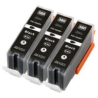 Aanbiedingen Compatible 3x Canon PGI-580BK XXL inktcartridges zwart voordeelbundel (inktcartridges) Alleeninkt - Canon - Geldig van 09/09/2021 tot 04/10/2021 bij Alleeninkt