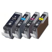 Aanbiedingen Compatible Canon PGI-5 + CLI-8 inktcartridges voordeelbundel (4set) (inktcartridges) Alleeninkt - Canon - Geldig van 09/09/2021 tot 04/10/2021 bij Alleeninkt