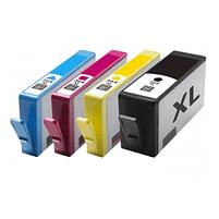 Aanbiedingen Compatible HP 364 XL inktcartridges voordeelbundel (4set) (inktcartridges) Alleeninkt - HP - Geldig van 09/09/2021 tot 23/09/2021 bij Alleeninkt