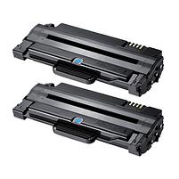 Aanbiedingen Compatible 2x Samsung MLT-D1052L (SU758A) toner zwart hoge capaciteit (toners) Alleeninkt - Samsung - Geldig van 09/09/2021 tot 23/09/2021 bij Alleeninkt