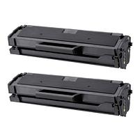 Aanbiedingen Compatible 2x Samsung MLT-D111L (SU799A) toner zwart hoge capaciteit (toners) Alleeninkt - Samsung - Geldig van 09/09/2021 tot 23/09/2021 bij Alleeninkt