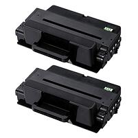Aanbiedingen Compatible 2x Samsung MLT-D205E (SU951A) toner zwart extra hoge capaciteit (toners) Alleeninkt - Samsung - Geldig van 09/09/2021 tot 23/09/2021 bij Alleeninkt