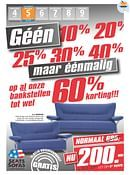 Seats and Sofas folder geldig tot 09-05-2015
