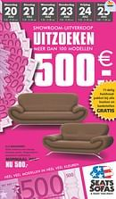 Seats and Sofas folder geldig tot 25-07-2015