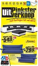 Seats and Sofas folder geldig tot 14-05-2016