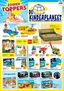 De Kinderplaneet folder geldig tot 31-07-2017