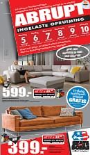 Seats and Sofas folder geldig tot 11-02-2018