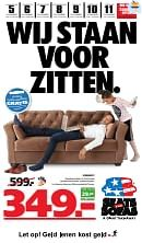 Seats and Sofas folder geldig tot 11-11-2018