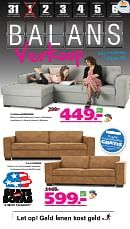 Seats and Sofas folder geldig tot 06-01-2019