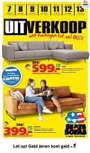 Seats and Sofas folder geldig tot 13-01-2019