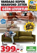 Seats and Sofas folder geldig tot 10-05-2020