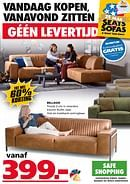 Seats and Sofas folder geldig tot 21-06-2020