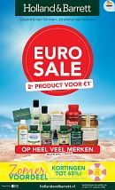 Holland & Barrett folder geldig tot 09-08-2020