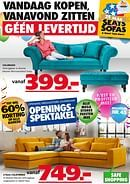 Seats and Sofas folder geldig tot 08-11-2020